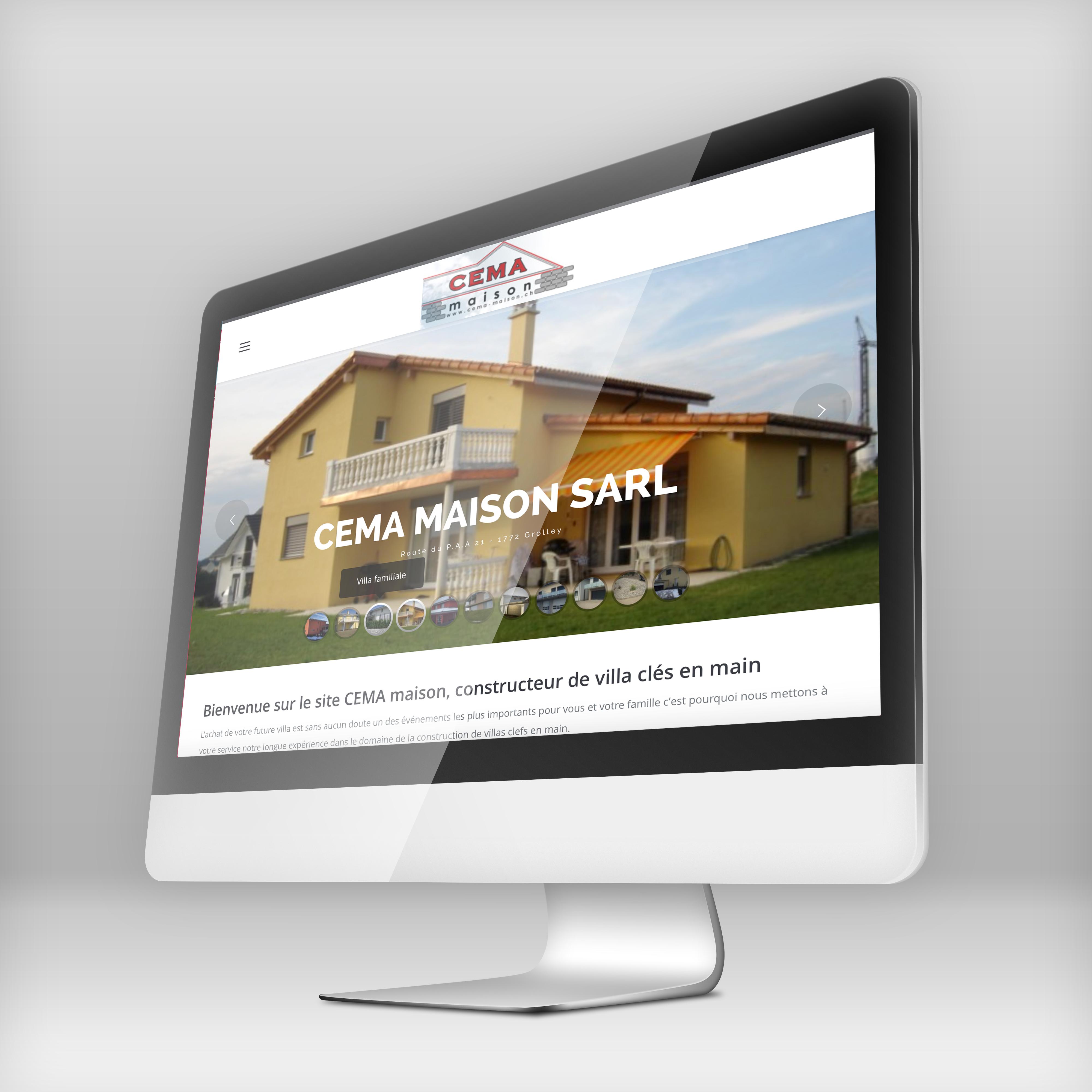 site web cema-maison