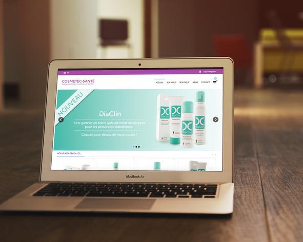 site web cosmétique santé