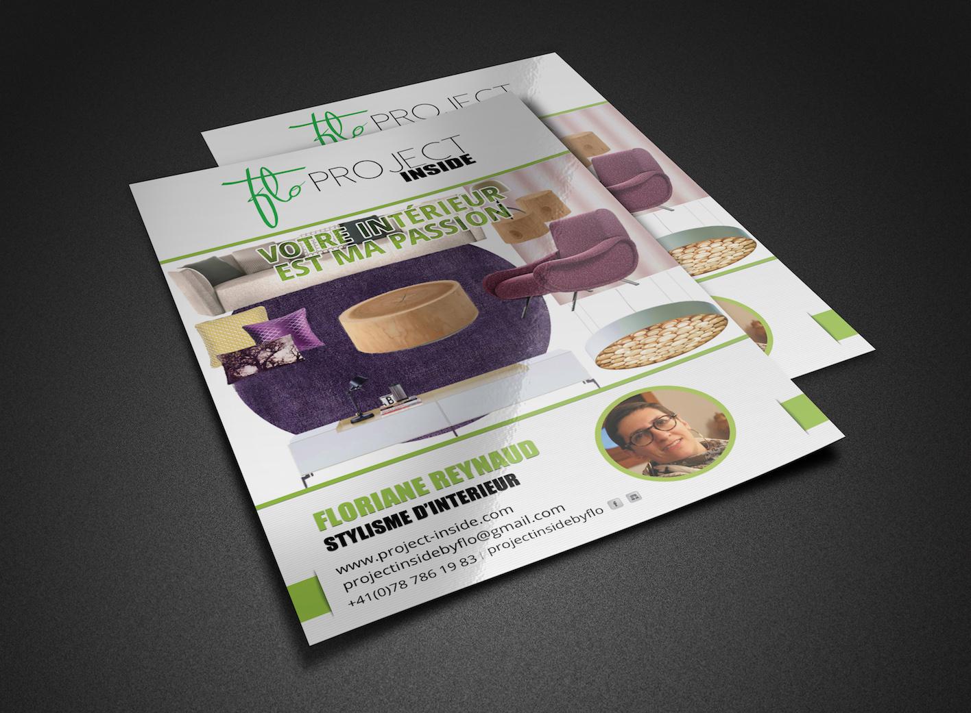 project inside flyers