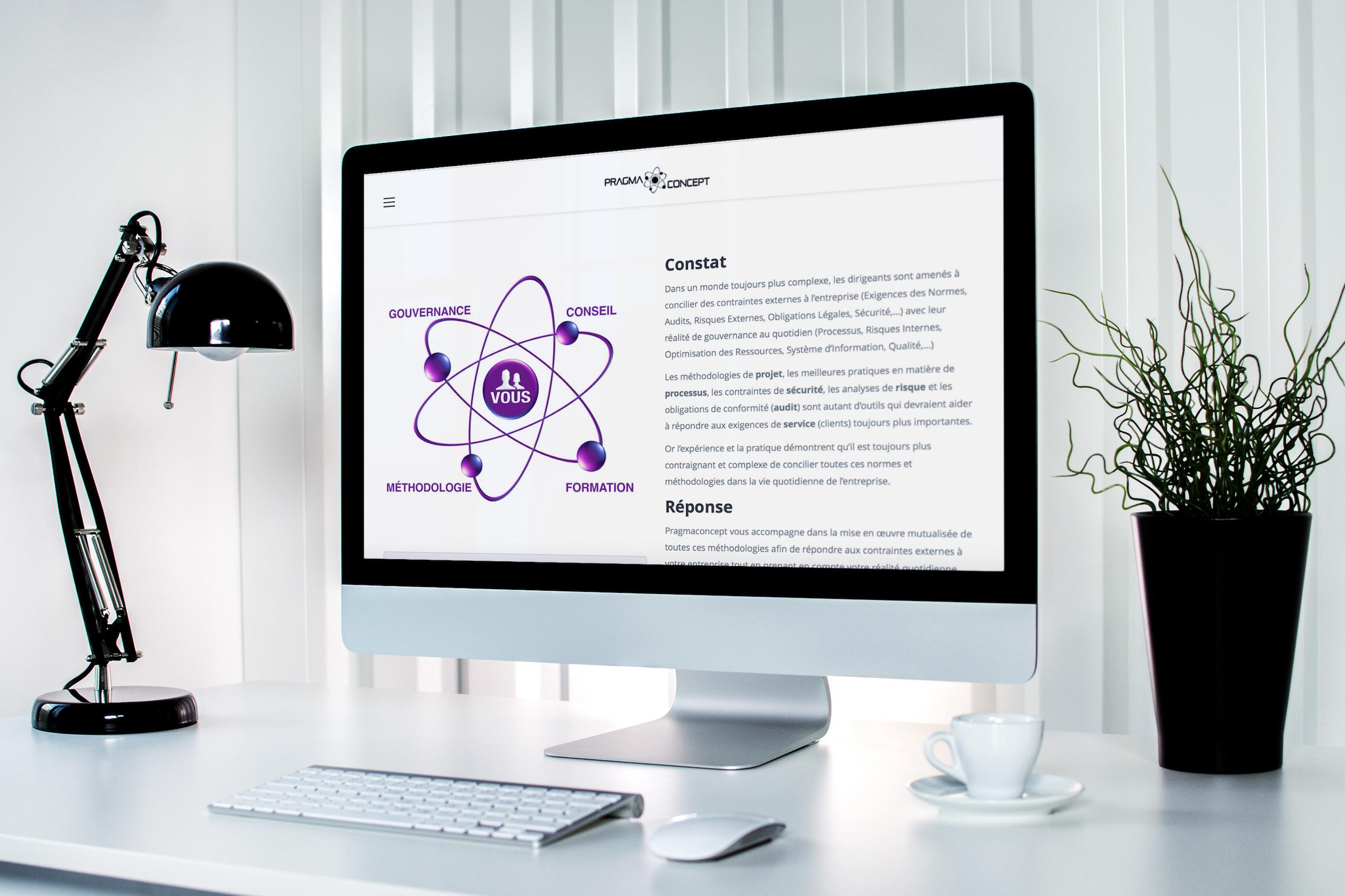 Conception Dun Logo Film Dintro Site Web Et Cartes De Visite