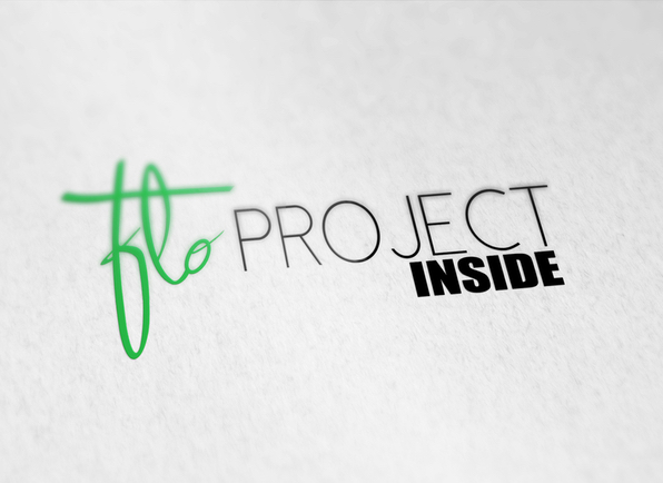 Logo Flo project inside