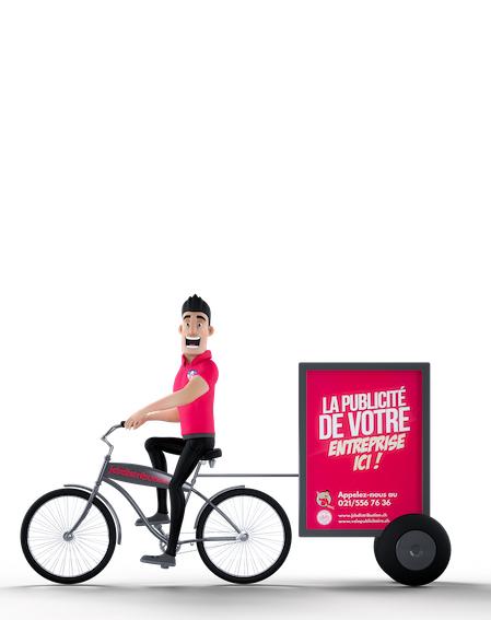 Vélo-publicitaire
